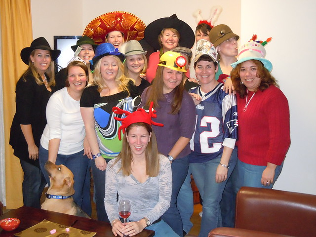 Birthday Bunco - with hats