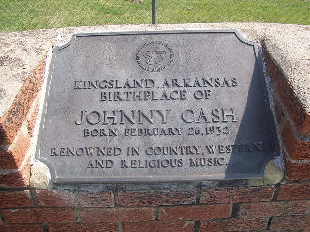 Johnny Cash in Kingsland, Arkansas | Birthplace of Johnny Ca\u2026 | Flickr - Photo Sharing!