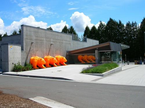 Public art at Langara 49th Ave