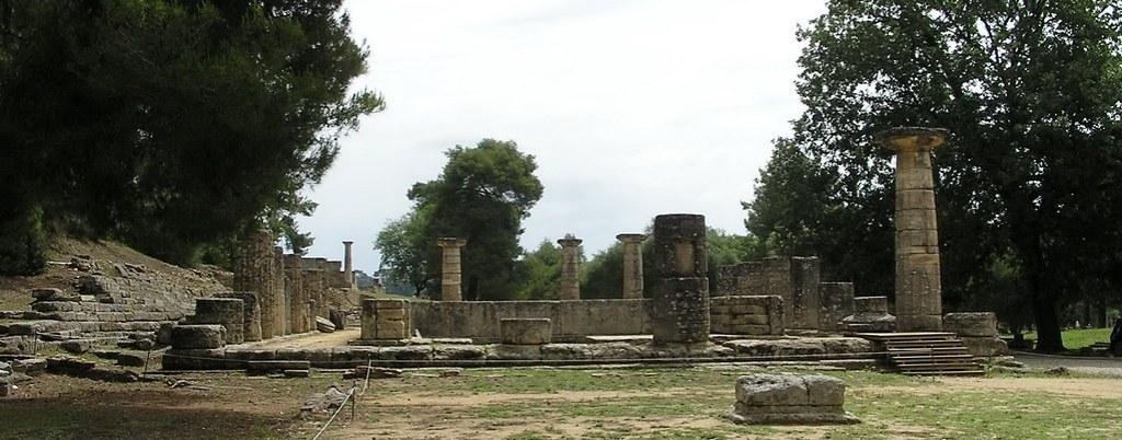 Grecia Templo de Hera Olimpia 44
