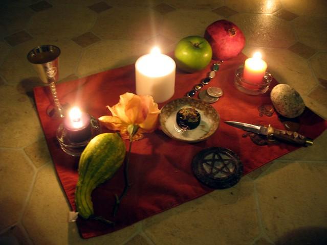 Samhain Altar Flickr Photo Sharing