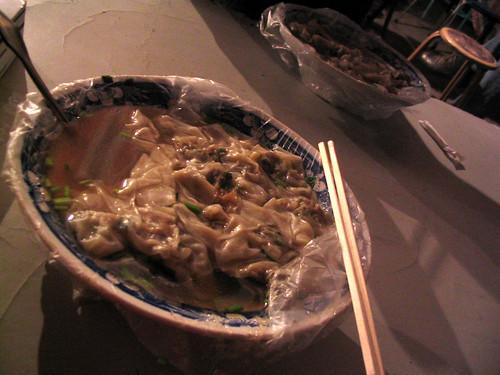 Wanton soup in Qingdao