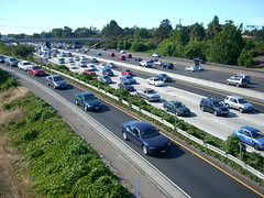 Silicon Valley Highway 101 Traffic Hell