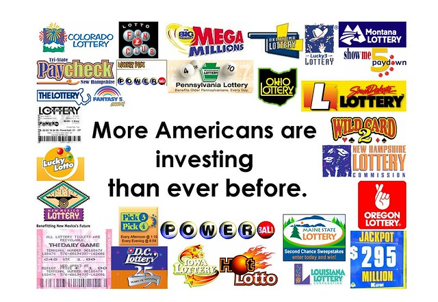 Americans Sell Off Stocks, Buy Lottery Tickets