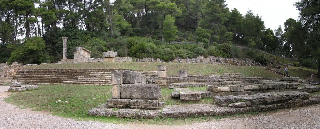 Metroon Templo de Cibeles Olimpia Grecia 36