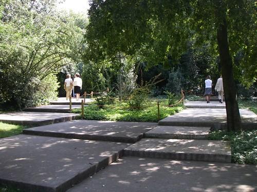 O belíssimo jardim da Gulbenkian