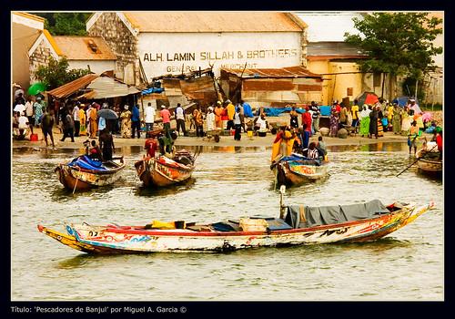 Pescadores de Banjul - CC Miguel G.S.