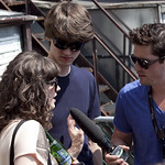The Balconies being interviewed