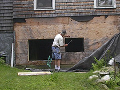 Window installation_firstholeouts