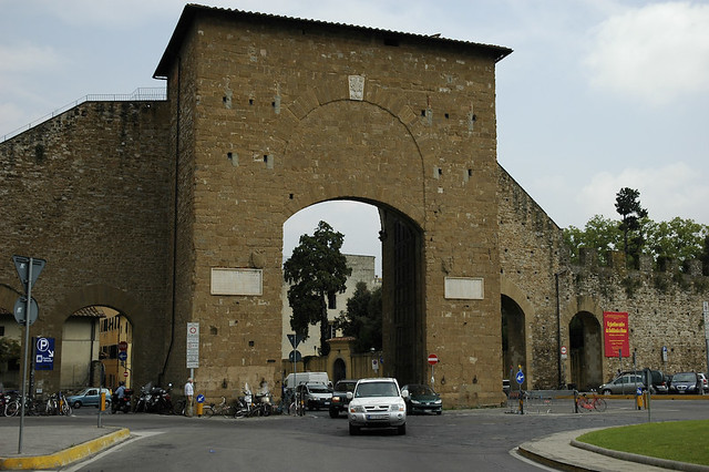 Porta Romana, Florence by George V. Reilly