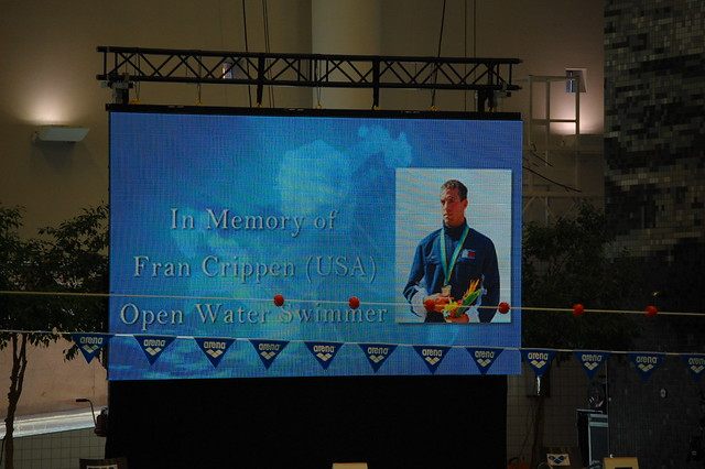 Fran Crippen remembered at the 2010 World Cup leg in Stockholm