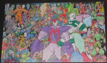 A complex drawing I made back in 1999.