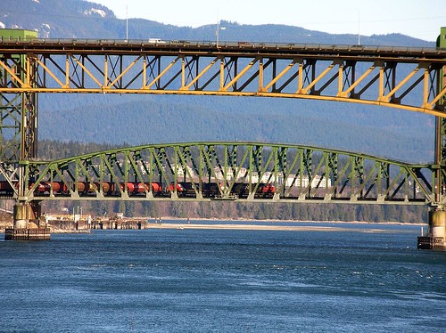 Second Narrows bridges Vancouver BC 2006_0217