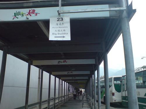 go to Bus 23 Terminus