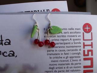 Orecchini Cherries