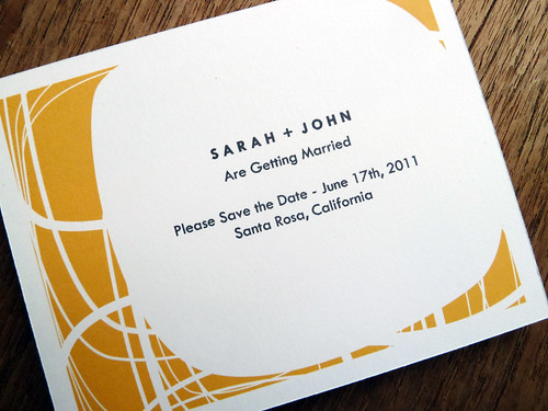 Printable Save the Date - Circle