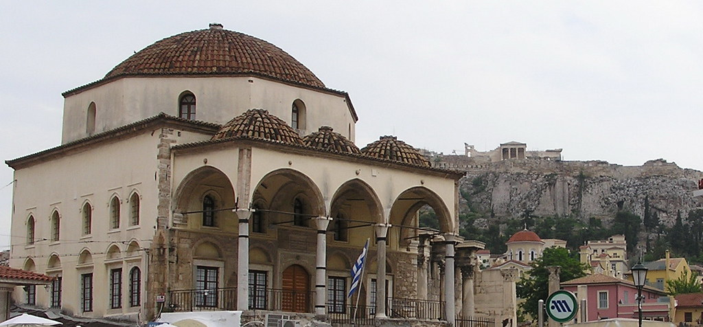 Grecia Atenas Mezquita Tzistarakis Plaza Monastiraki 10