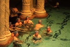 Thermal bath @ Hotel Gellert - Budapest, Hungary
