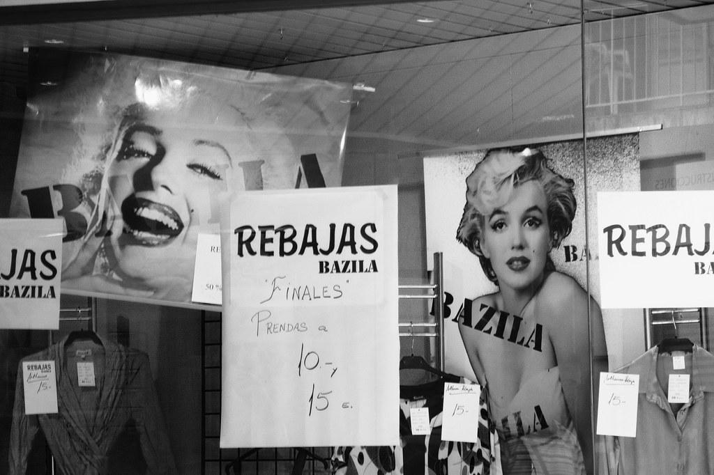 Marilyn de rebajas
