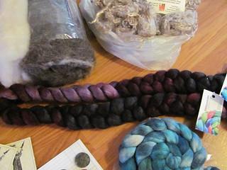 Alpaca/Silk fiber