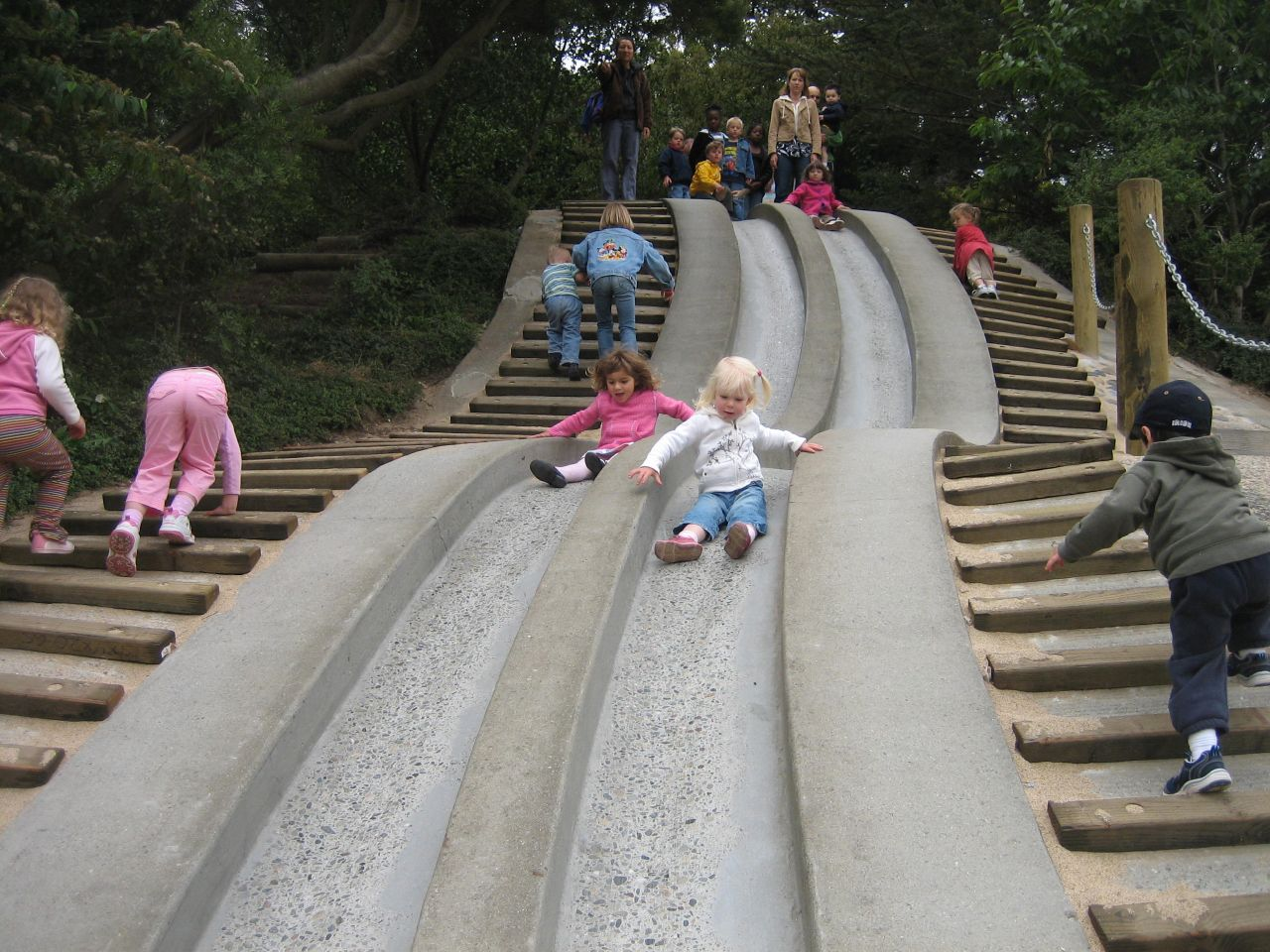 Big Slide or Not Avisable for a Two Year Old