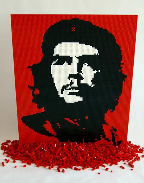 Che Guevara Lego mosaic