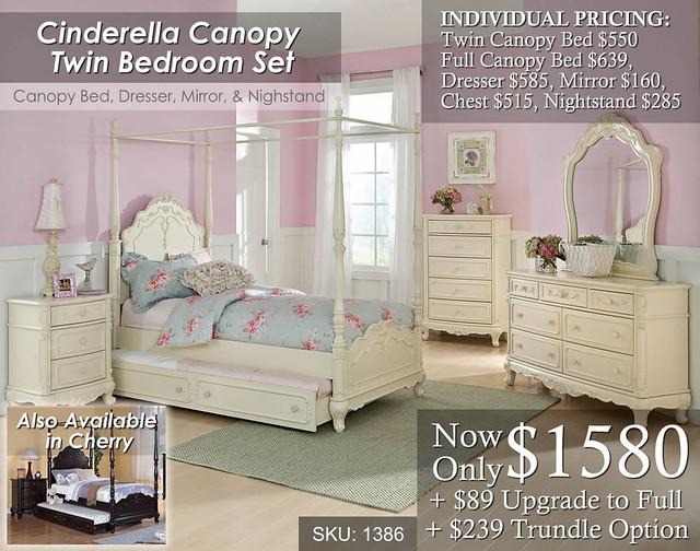 Cinderella Canopy Set