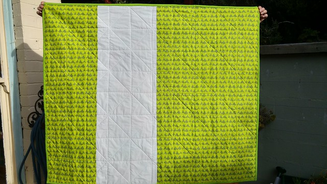 Verso, quick jelly roll quilt