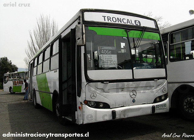 Transantiago (406e) - Terminal La Estrella - Caio Apache S21 / Mercedes Benz (UZ7680)