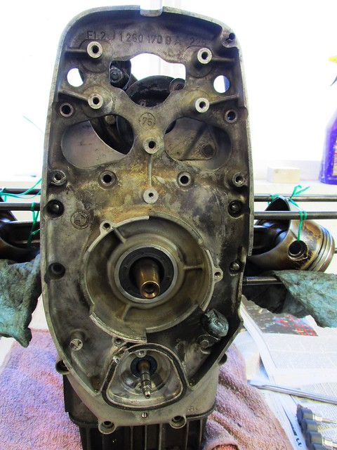 Inner Timing Cover Fasteners Removed