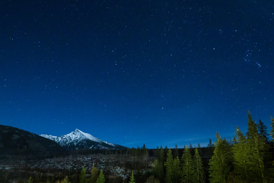 Imagen gratis de un cielo estrellado
