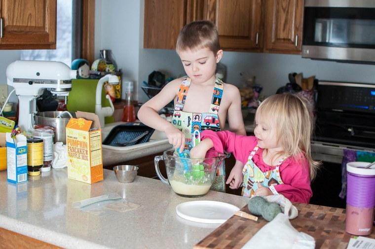 Pancake Making 1