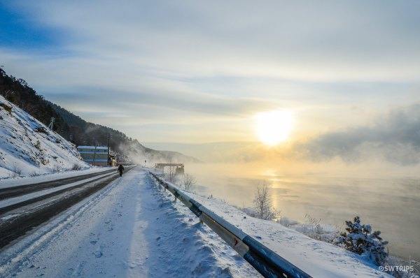 Sunset on Lake Baikal - Irkutsk, Russia