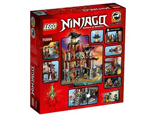 LEGO Ninjago 70594 The Lighthouse Siege back
