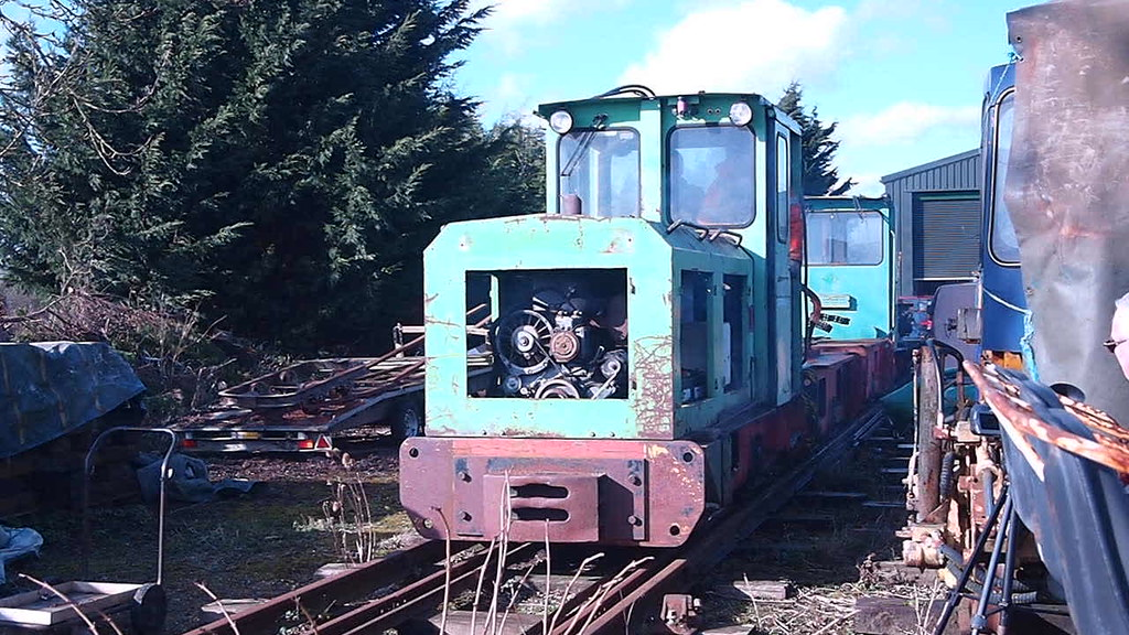 Schoma Locos in Norfolk - 16 Feb 2016