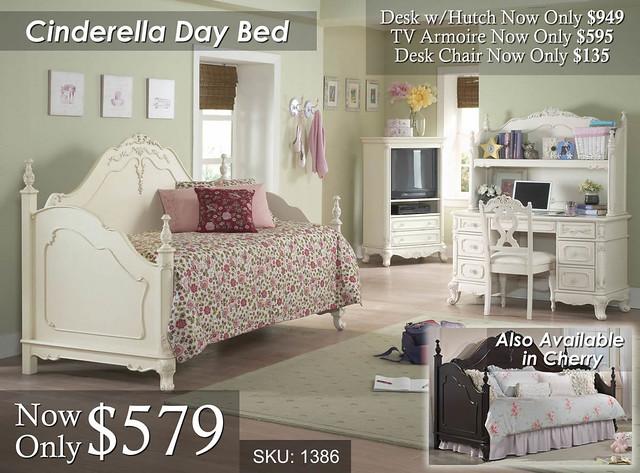 Cinderella Day Bed