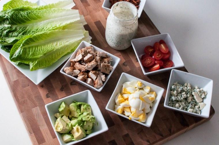 California Cobb Lettuce Wraps 3