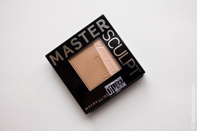 11 Maybelline Master Sculpt Contouring Palette 01 Light Medium