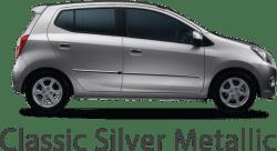 classic silver metallic