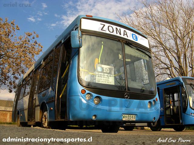Transantiago - Unitran - Metalpar Tronador / Mercedes Benz (WH2063)