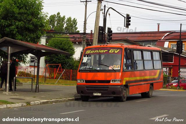 Micro 20 Valdivia - Niebla / Marcopolo Senior / Mercedes Benz (SP6639)