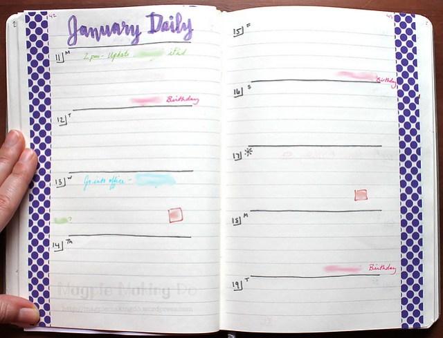 January Daily