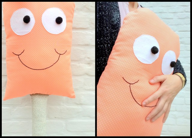 icecream pillow (collage)