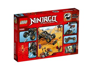 LEGO Ninjago 70589 Rock Roader back