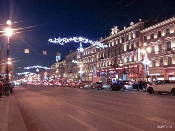 St Petersburg at Night