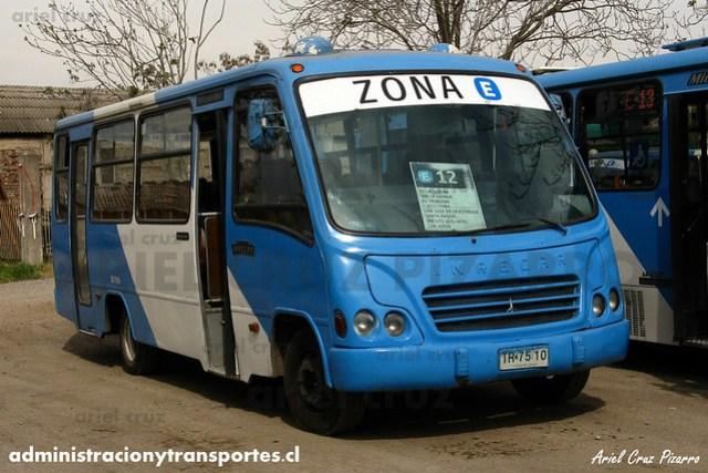 Transantiago (E12) - Unitran - Inrecar Capricornio / Mercedes Benz (TR7510)
