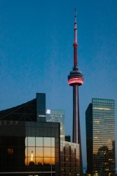 The CN Tower at Dusk