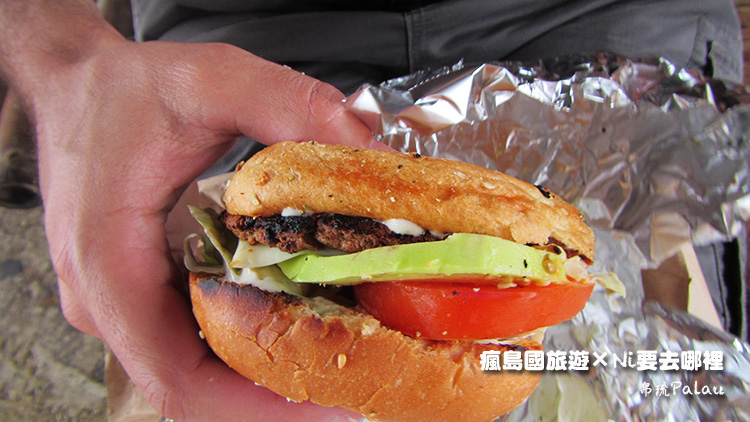 27帛琉美味素食漢堡