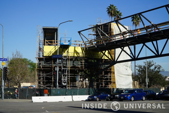 Photo Update: February 20, 2016 - Universal Studios Hollywood - Lankershim