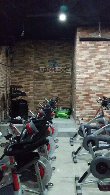 Indoor cycling & indoor rowing classes at Saddlerow Serendra